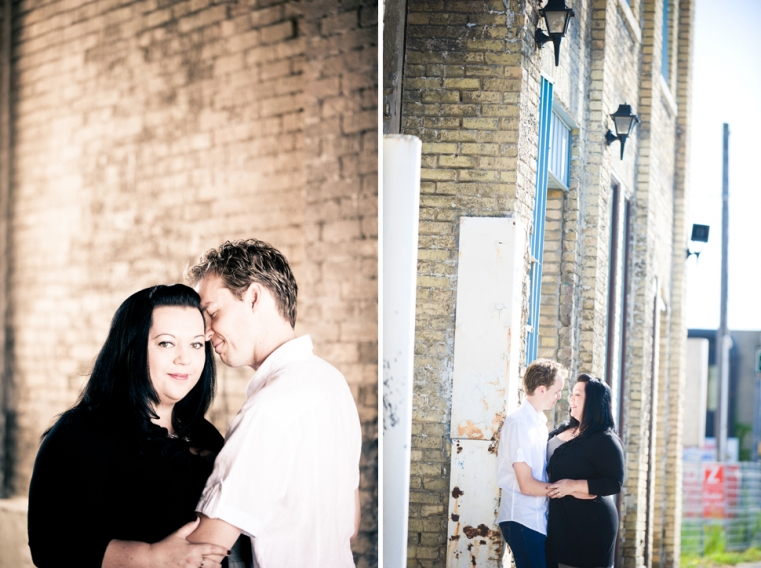 Aroha + Ian Engagement Photography Downtown London Ontario
