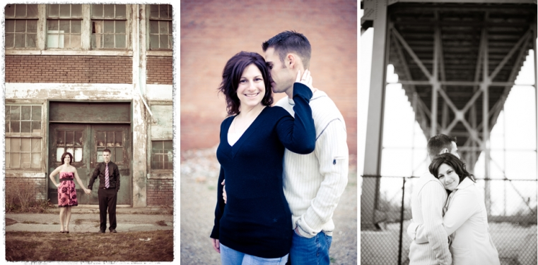Downtown Windsor Ontario Engagement Photographer
