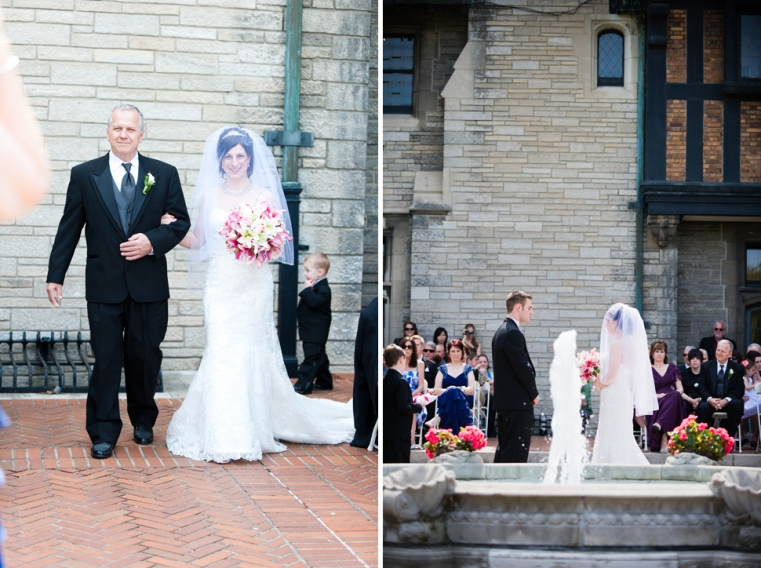 The Entrance | Brad + Val Willstead Manor Wedding Photographer