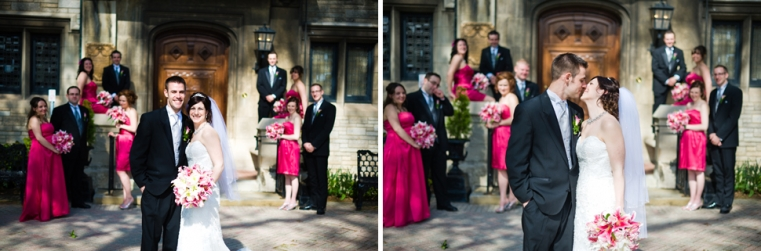 Wedding Party | Brad + Val Willstead Manor Wedding Photographer