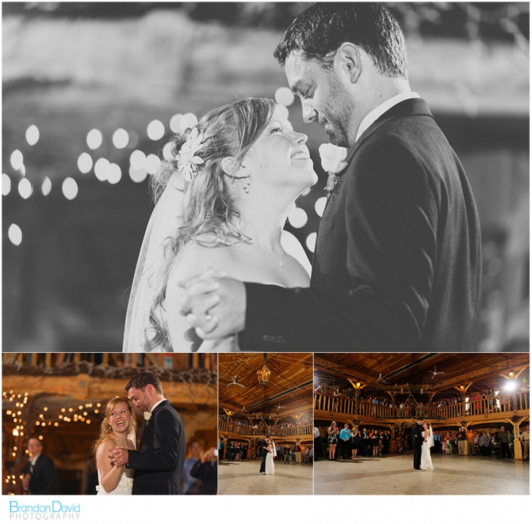 ographer - the Bride and Groom - Purple Hill Farms - The First Dance