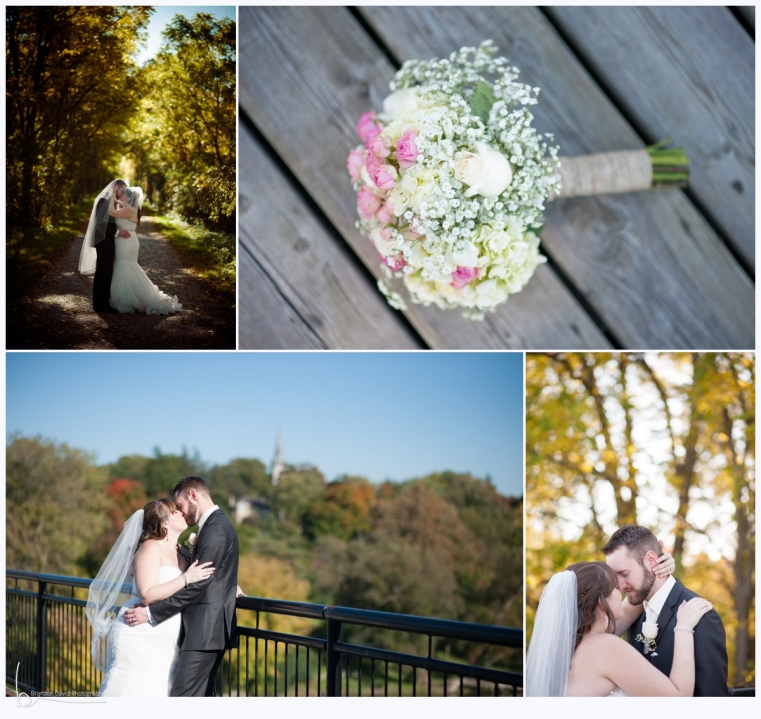 Ingersoll Wedding Photographer - Romantic Bride and Groom images